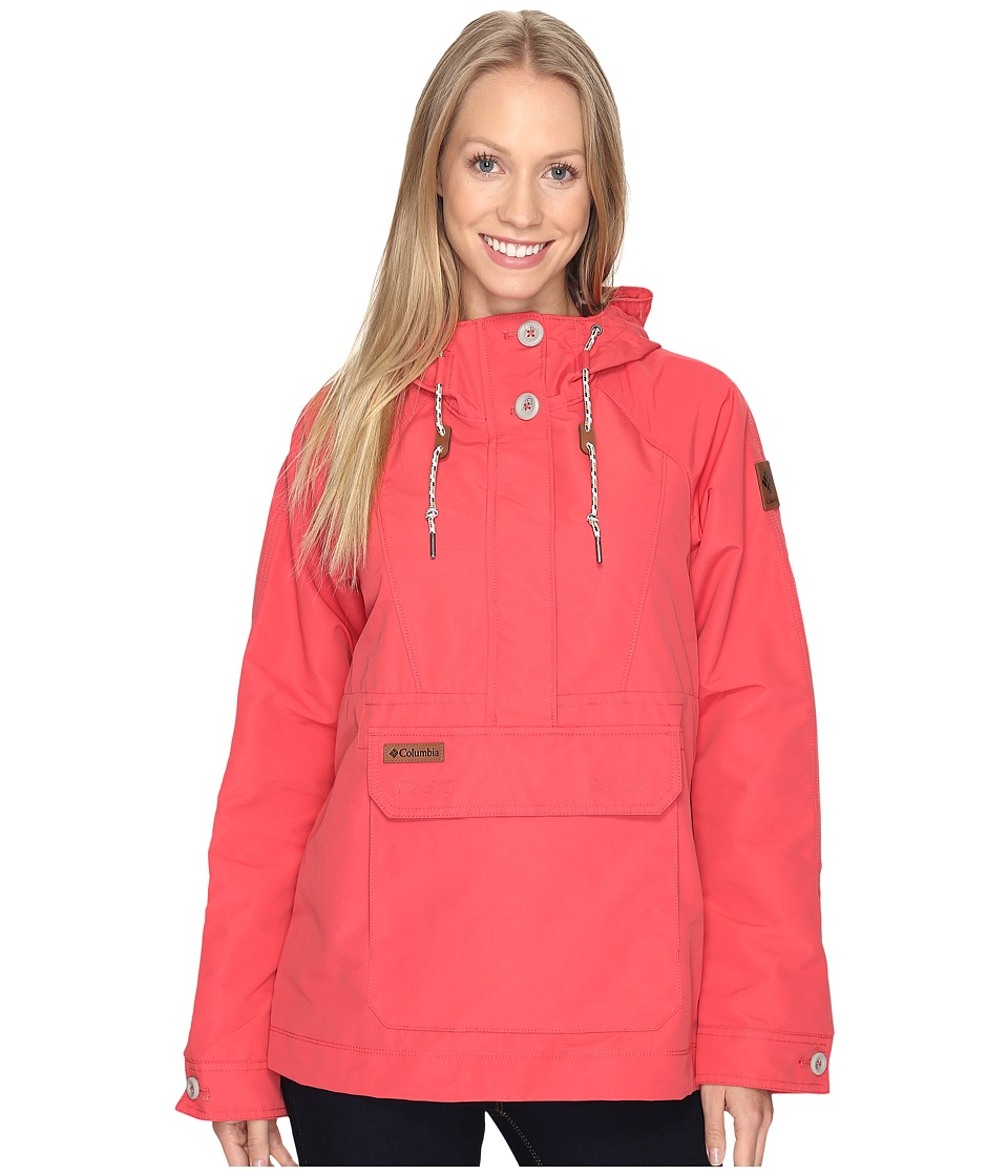 Columbia - South Canyon Creek Anorak (Sunset Red) Women's Coat