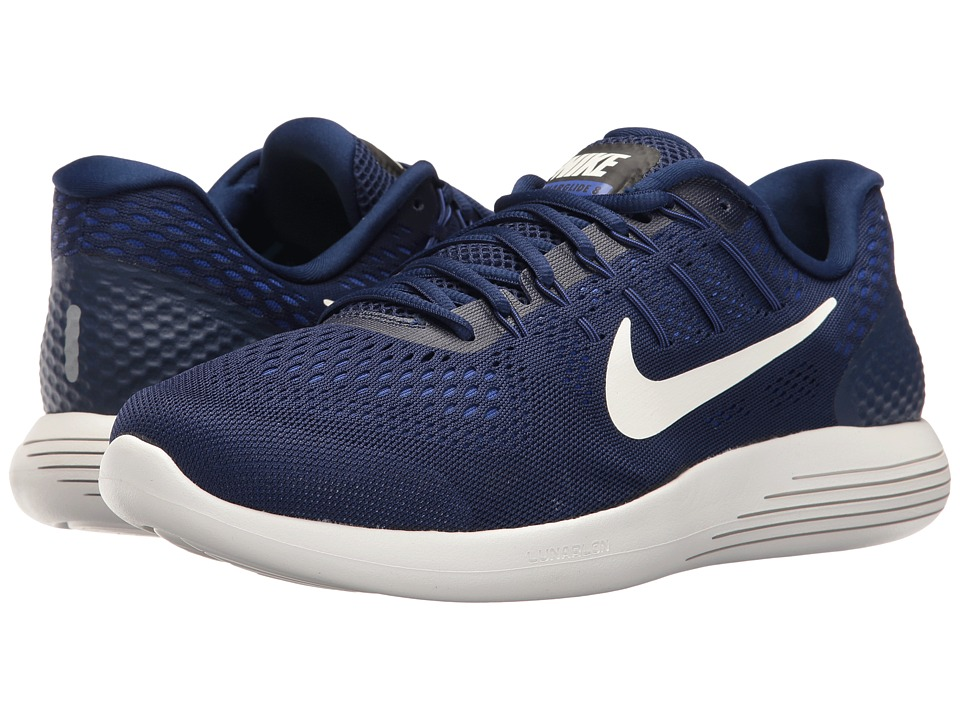 Nike - Lunarglide 8 (Binary Blue/Summit White/Black) Men's Running Shoes