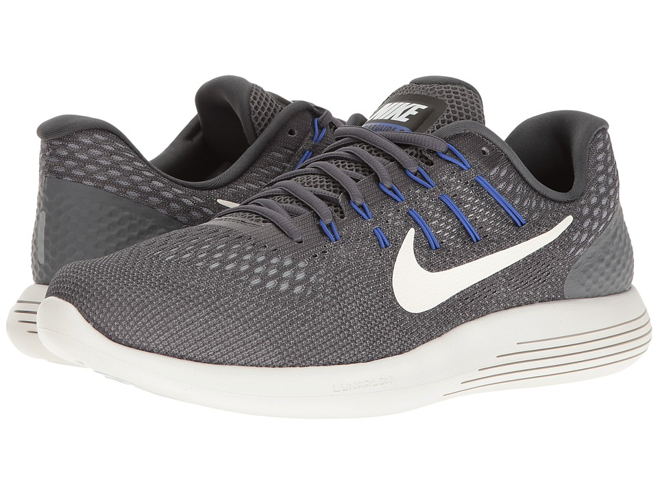 Nike - Lunarglide 8 (Dark Grey/Summit White/Wolf Grey) Men's Running Shoes