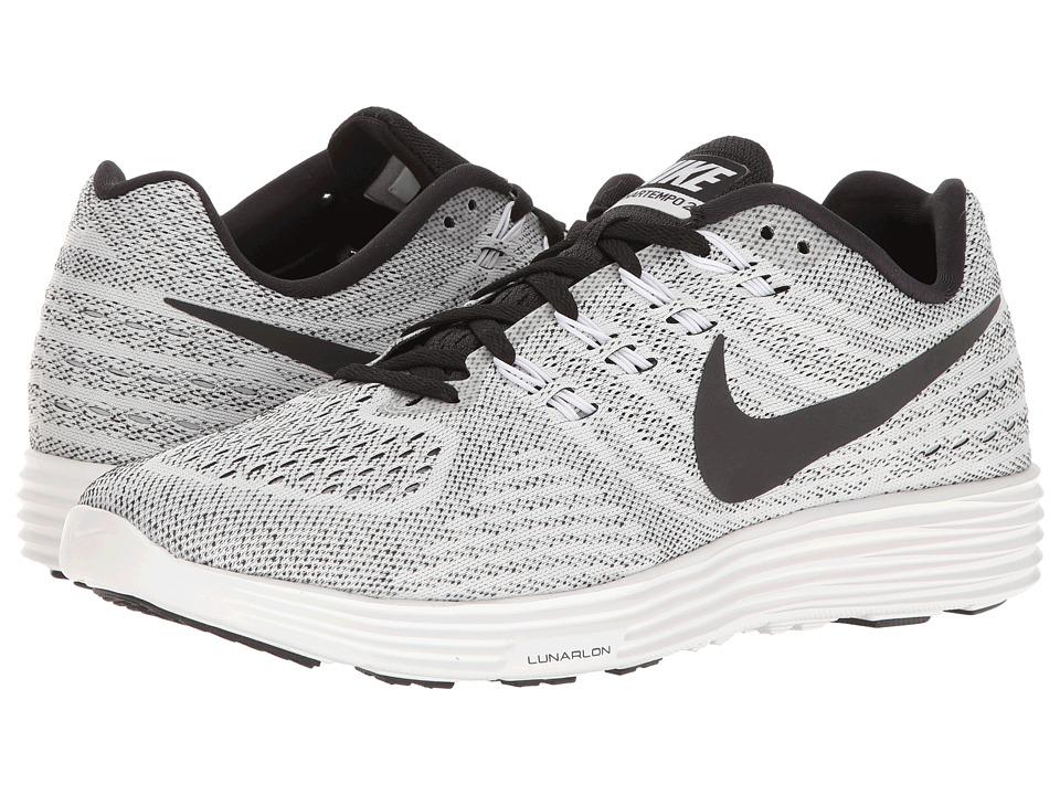 Nike - Lunartempo 2 (White/Black) Men's Running Shoes