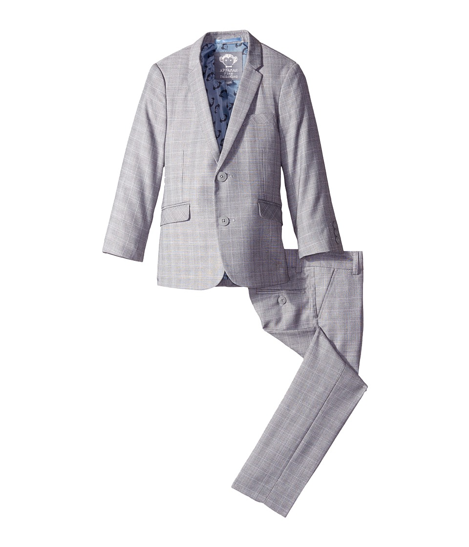 Appaman Kids - Mod Suit (Toddler/Little Kids/Big Kids) (Glen Plaid) Boy's Suits Sets