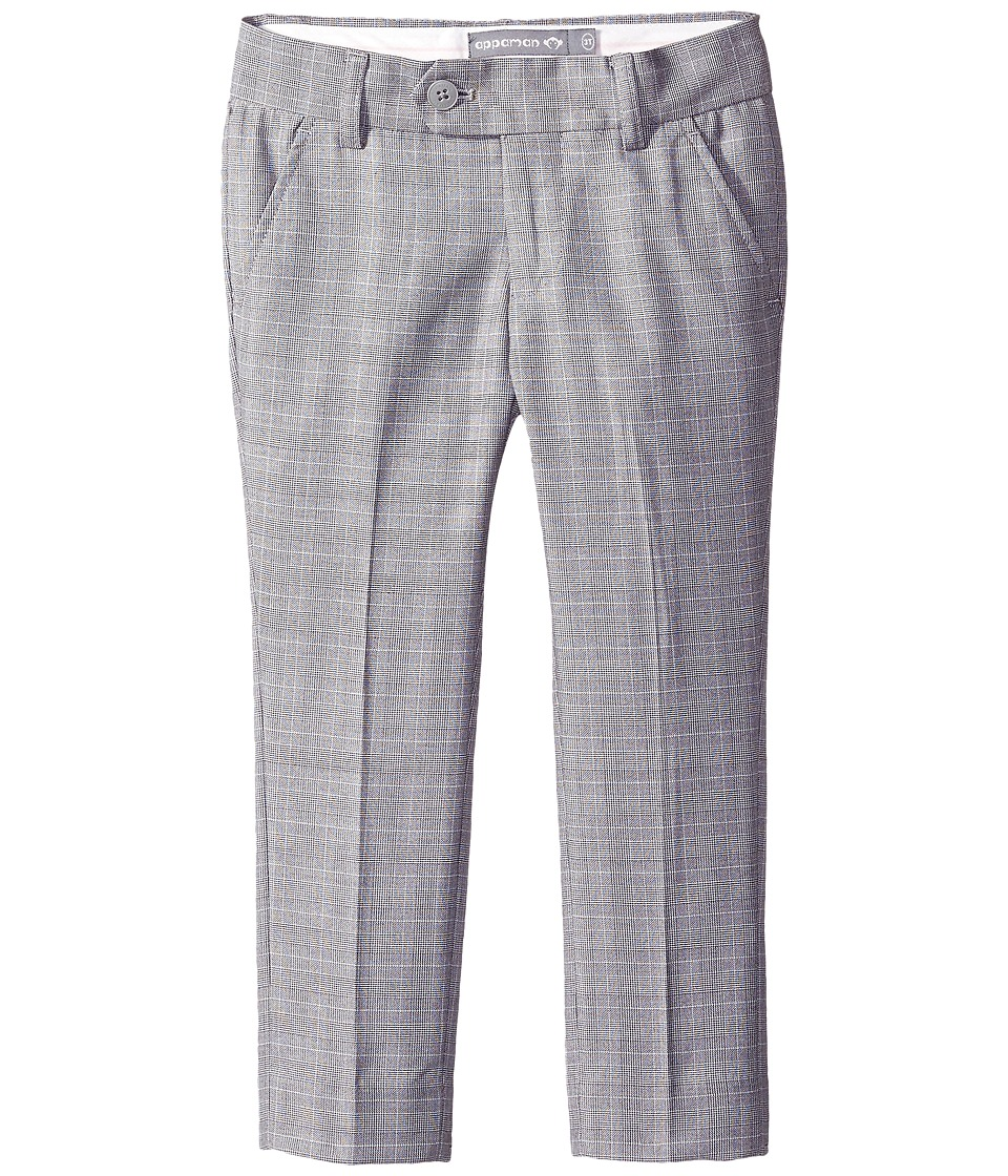 Appaman Kids - Suit Pants (Toddler/Little Kids/Big Kids) (Glen Plaid) Boy's Casual Pants