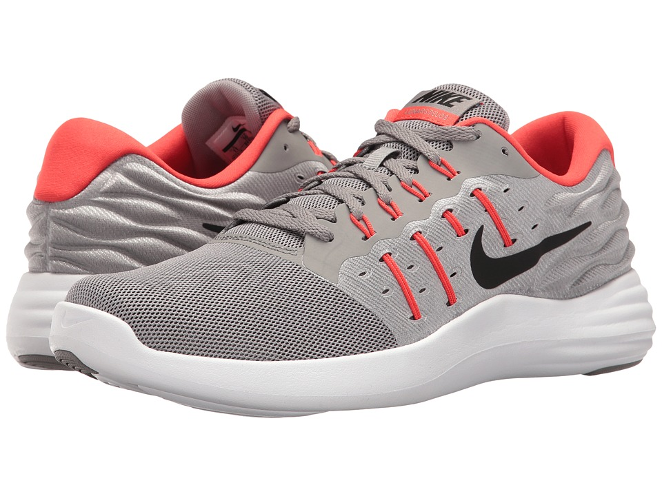 Nike - Lunarstelos (Dust/Black/Max Orange/Midnight Fog) Men's Running Shoes