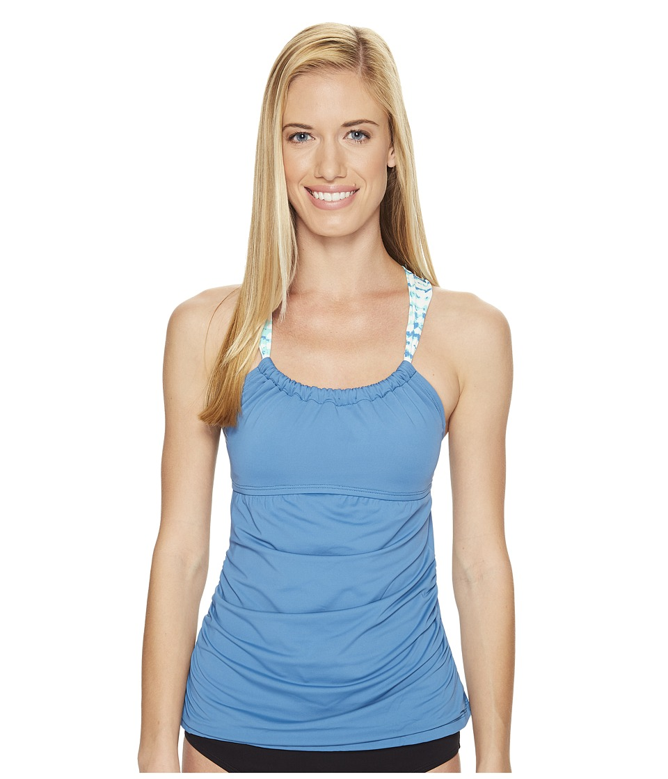 Carve Designs Avalon Tankini (Ocean) Women