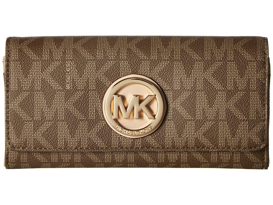 MICHAEL Michael Kors - Fulton Carryall (Mocha) Clutch Handbags
