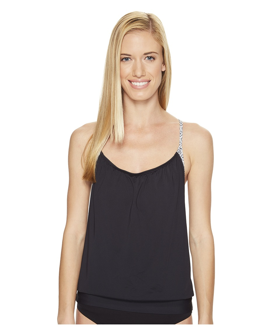 Carve Designs - Sophia Tankini (Black Sierra) Women's Swimwear