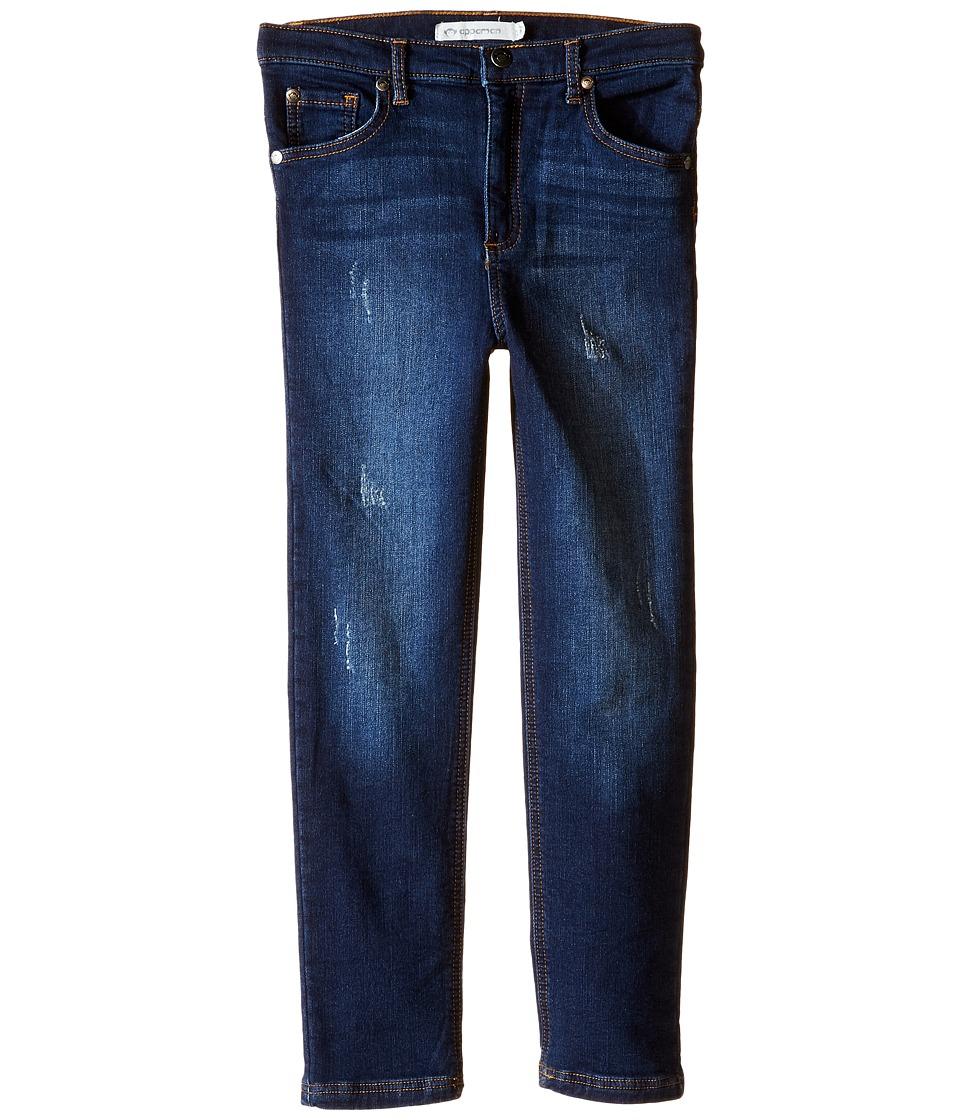 Appaman Kids - Denim Knit Jegging (Toddler/Little Kids/Big Kids) (Vintage Wash) Girl's Jeans