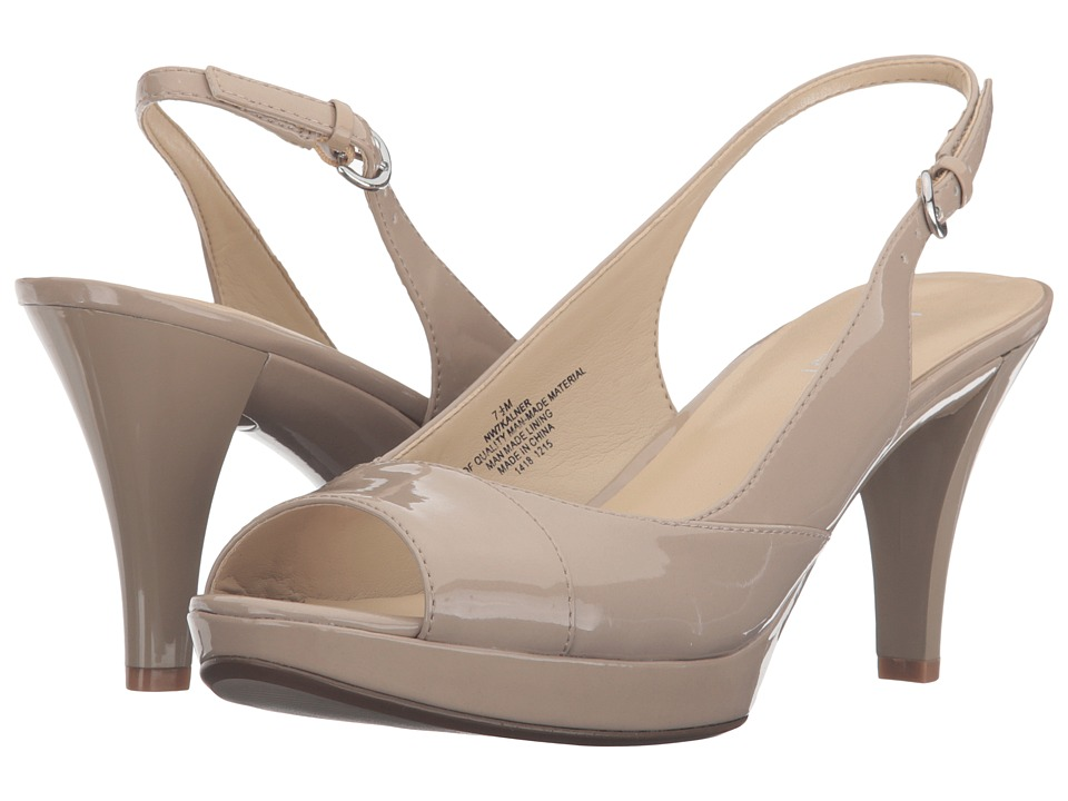 Nine West - Kalner (Taupe Synthetic) Women's Shoes