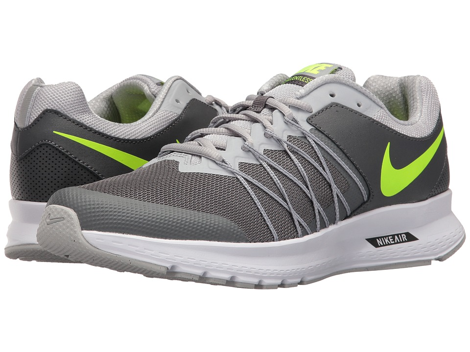 Nike - Air Relentless 6 (Dark Grey/Volt/Wolf Grey/White) Men's Running Shoes