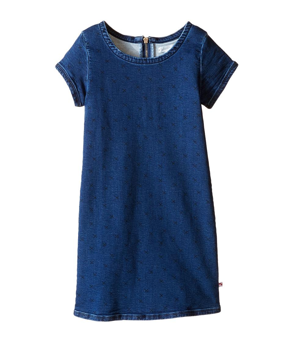 Appaman Kids - Shelly Dress (Toddler/Little Kids/Big Kids) (Medium Blue Wash) Girl's Dress
