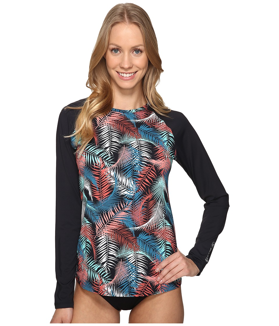 Carve Designs - Sunset Rash Guard (Black Kauai) Women's Swimwear