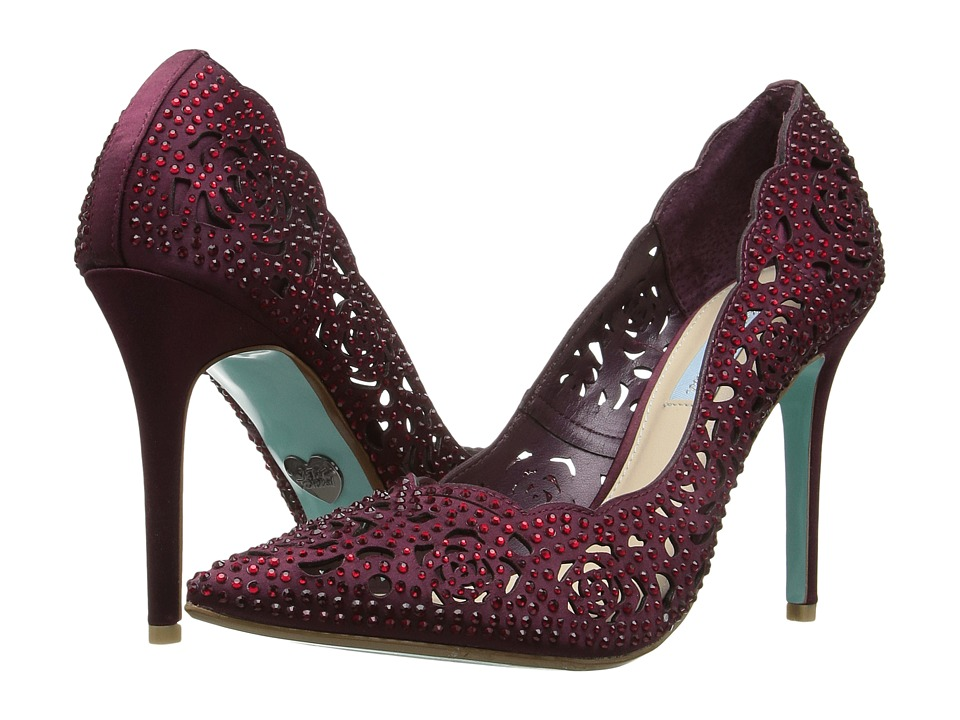 Blue by Betsey Johnson - Elsa (Bordeaux) High Heels