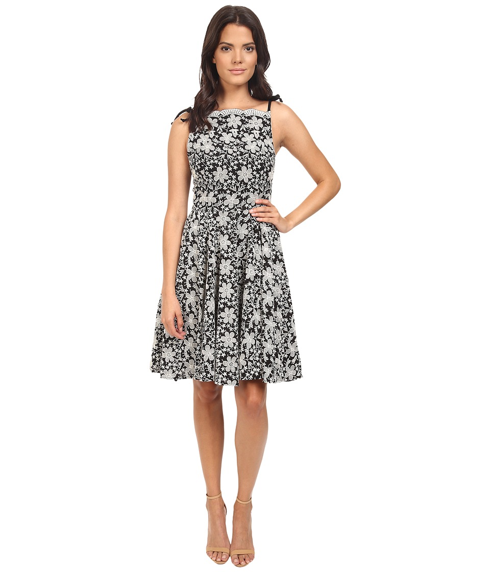 Eva by Eva Franco - Sassoon Dress (Black/Ivory) Women's Dress