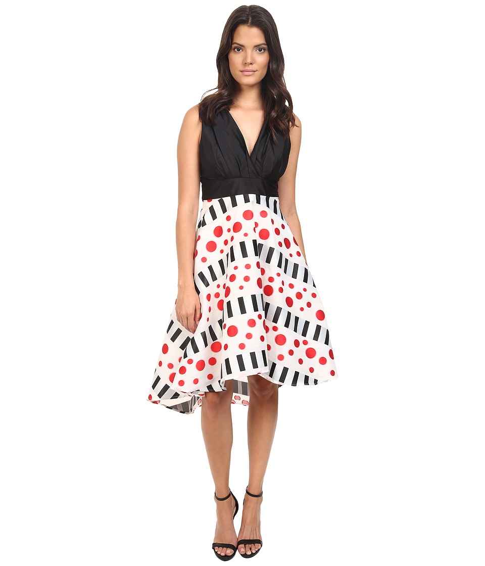 Eva by Eva Franco - Libby Dress (Black/White) Women's Dress