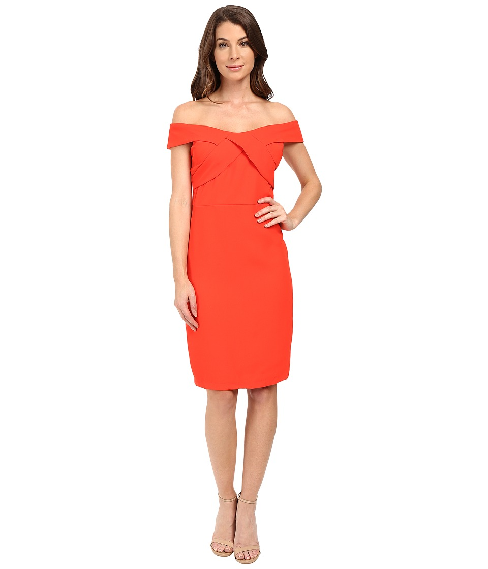 Eva by Eva Franco - Off the Shoulder Dress (Coral) Women's Dress
