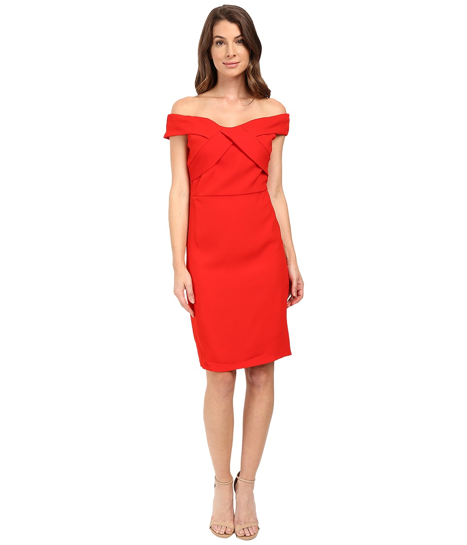 Eva by Eva Franco - Off the Shoulder Dress (Red) Women's Dress