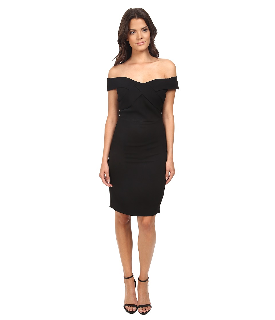 Eva by Eva Franco - Off the Shoulder Dress (Black) Women's Dress