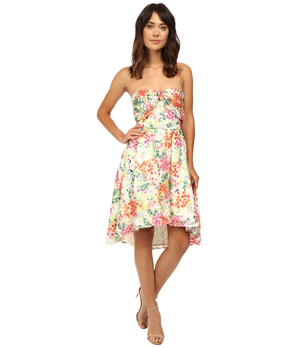 Eva by Eva Franco Bow Front Dress (Multi Floral) Women