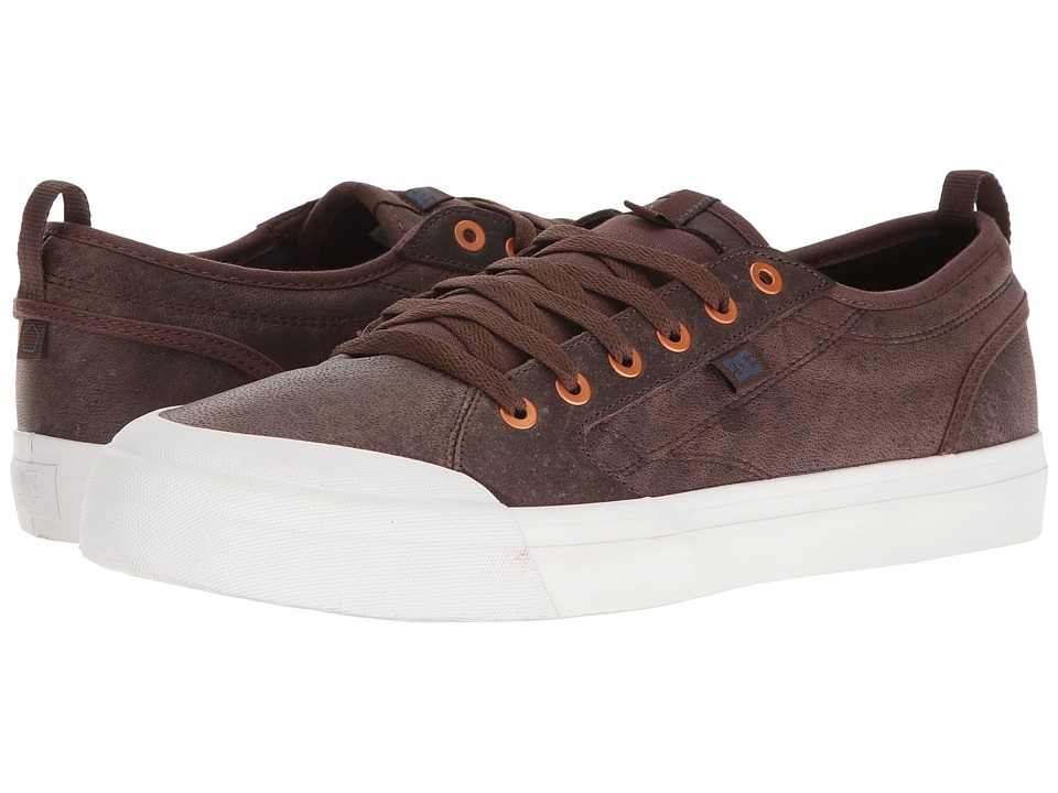 DC - Evan Smith LX (Dark Chocolate) Men's Skate Shoes