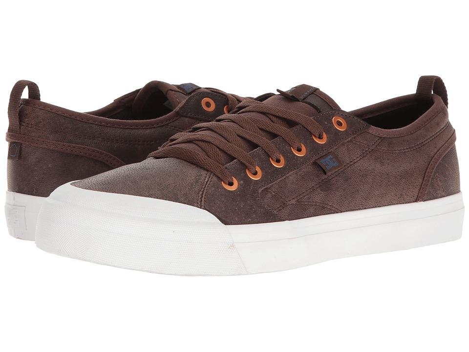 DC - Evan Smith LX (Dark Chocolate) Men's Skate Shoes