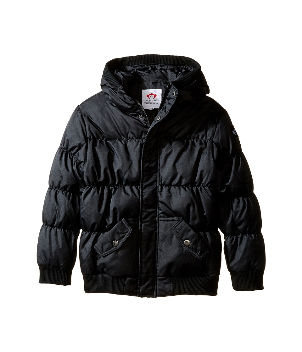 Appaman Kids - Puffy Coat (Toddler/Little Kids/Big Kids) (Black) Kid's Coat