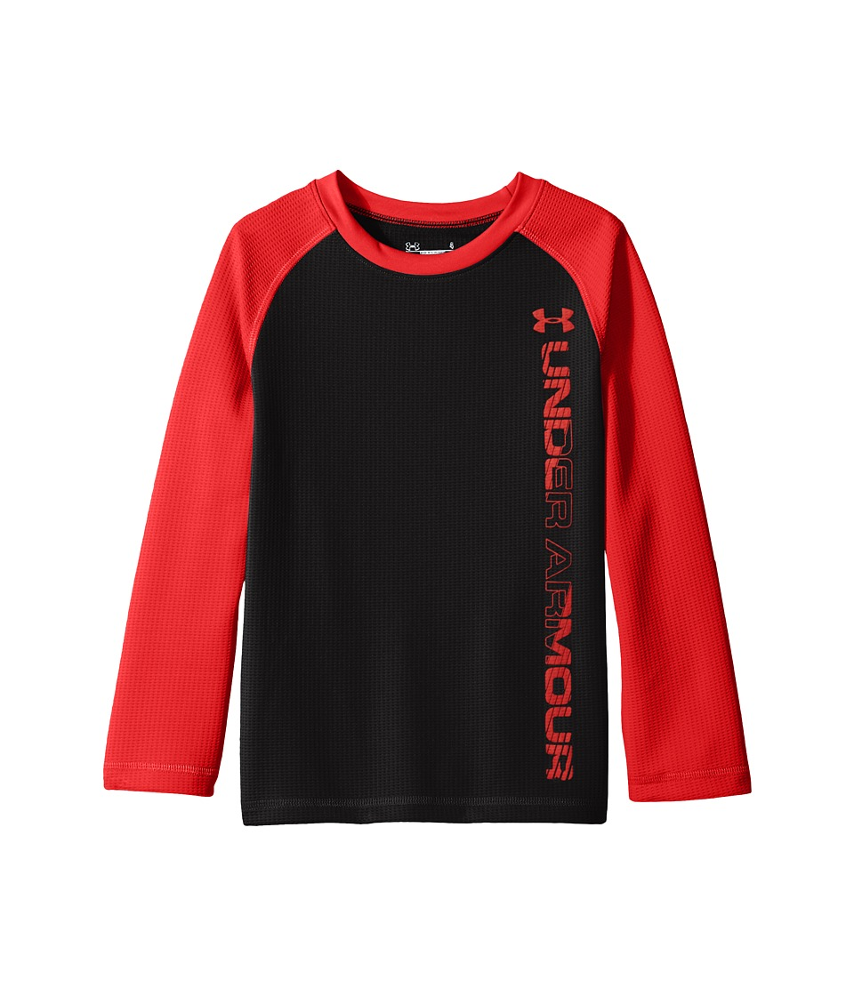 Under Armour Kids - Waffle Crew (Toddler) (Black) Boy's Clothing