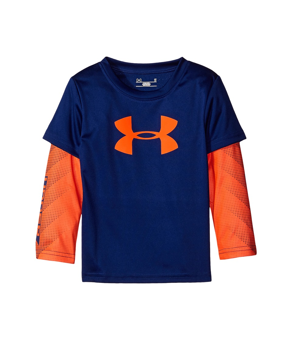 Under Armour Kids - Big Logo Power Slider (Toddler) (Caspian) Boy's Clothing