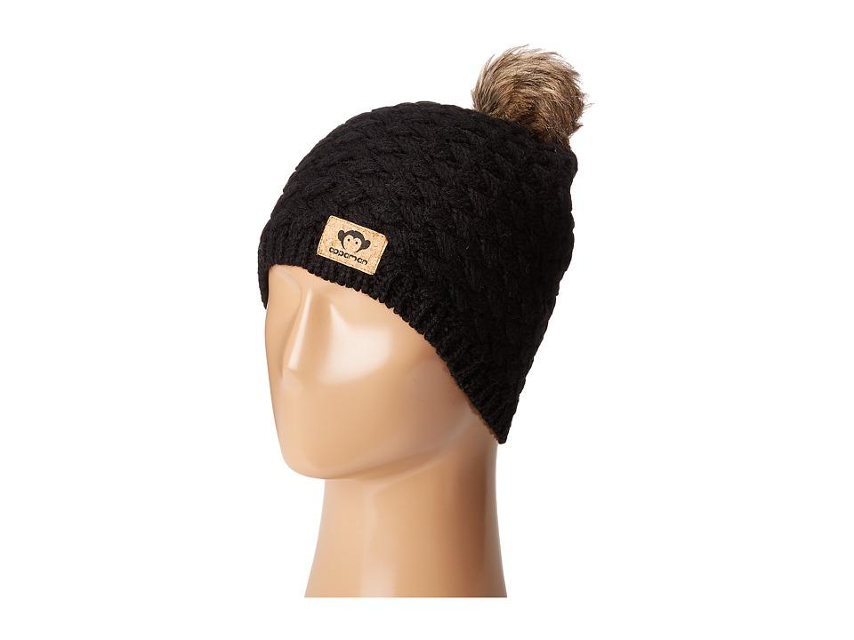 Appaman Kids - Salome Hat (Infant/Toddler/Little Kids/Big Kids) (Black) Caps