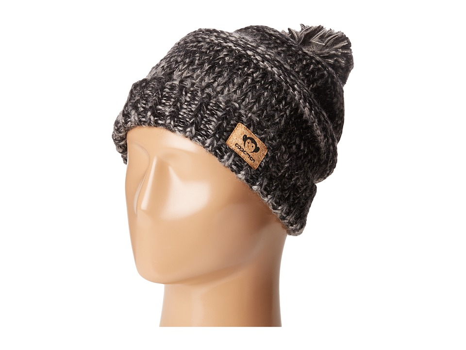 Appaman Kids - Tilly Hat (Infant/Toddler/Little Kids/Big Kids) (Heather Black) Caps