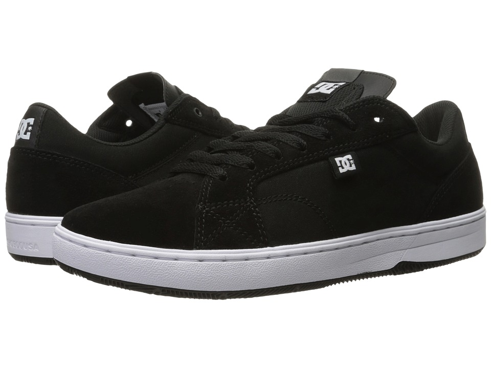 DC - Astor (Black/White) Men's Skate Shoes