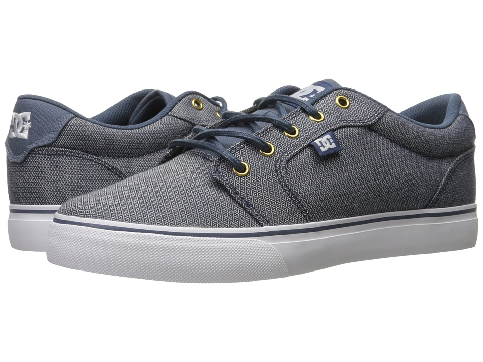 DC - Anvil TX SE (Vintage Indigo) Men's Shoes