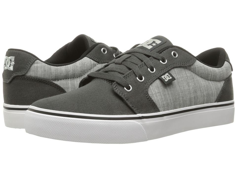 DC - Anvil TX SE (Charcoal Grey) Men's Shoes
