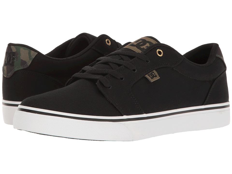 DC - Anvil TX SP (Camo) Men's Skate Shoes