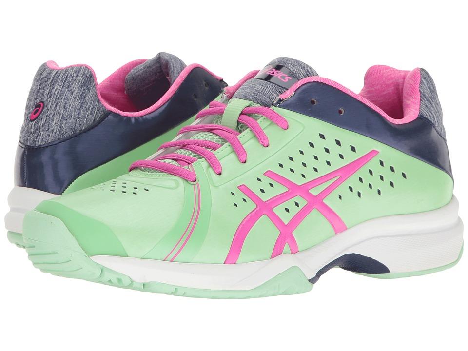 ASICS - Gel-Court Bella (Paradise Green/Pink Glow/Indigo Blue) Women's Tennis Shoes