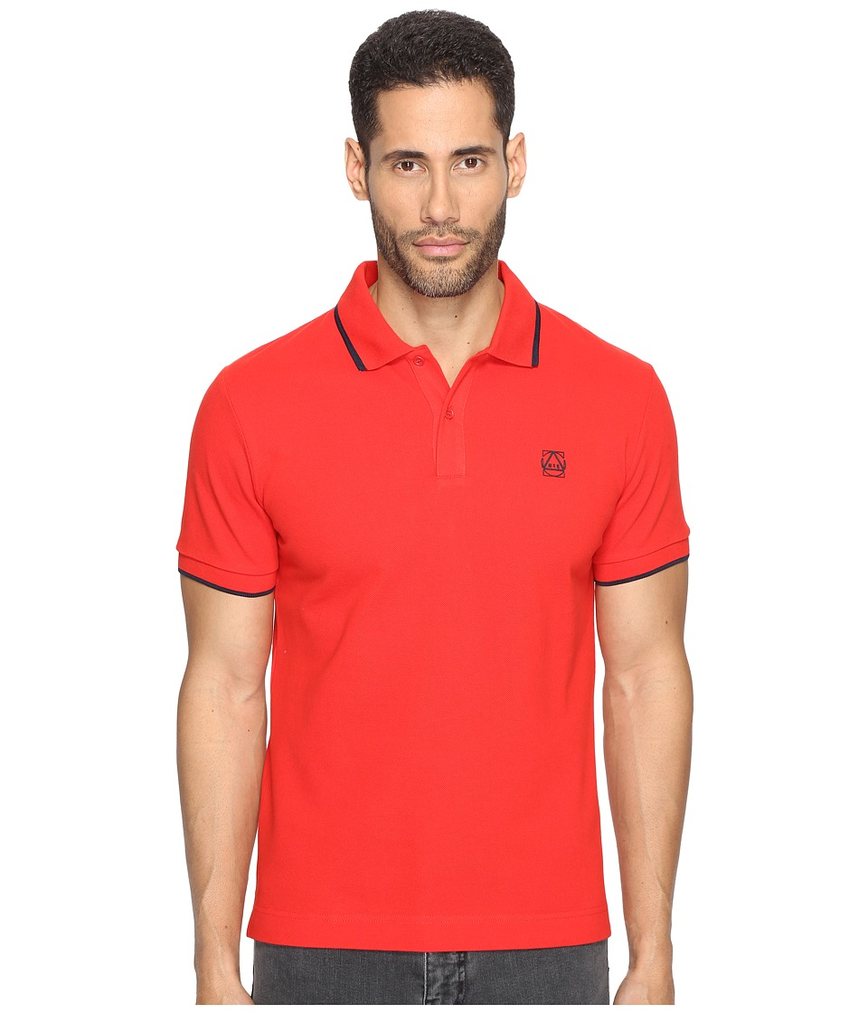 McQ - McQ Logo Polo (True Red) Men's Short Sleeve Pullover