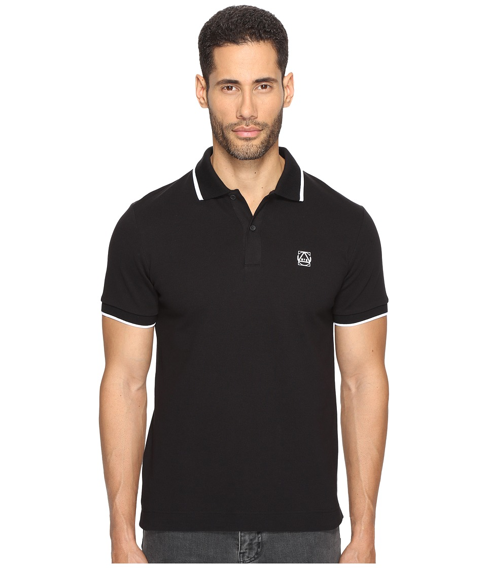 McQ - McQ Logo Polo (Darkest Black 4) Men's Short Sleeve Pullover