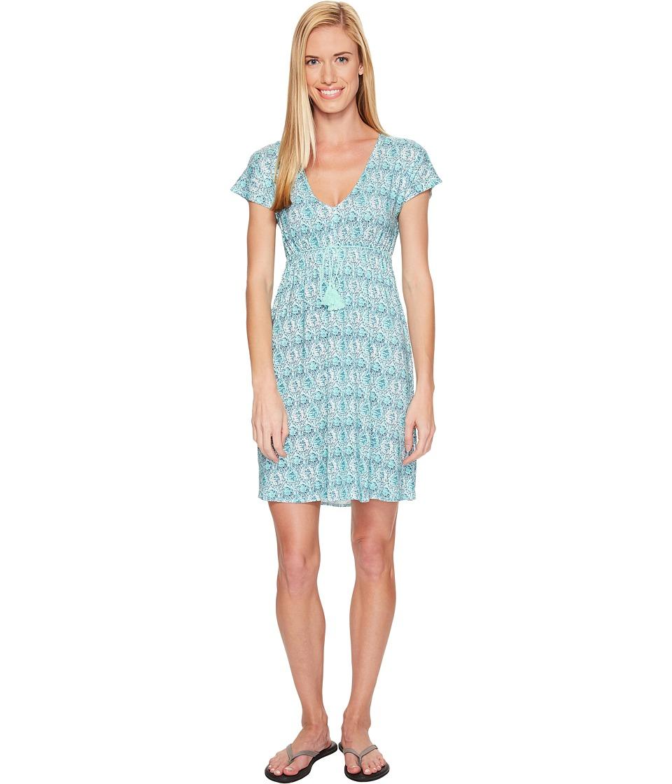 Carve Designs - Vero Dress (Blue Lagoon) Women's Dress