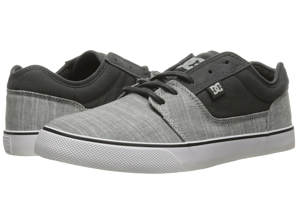 DC - Tonik TX SE (Charcoal Grey) Men's Skate Shoes
