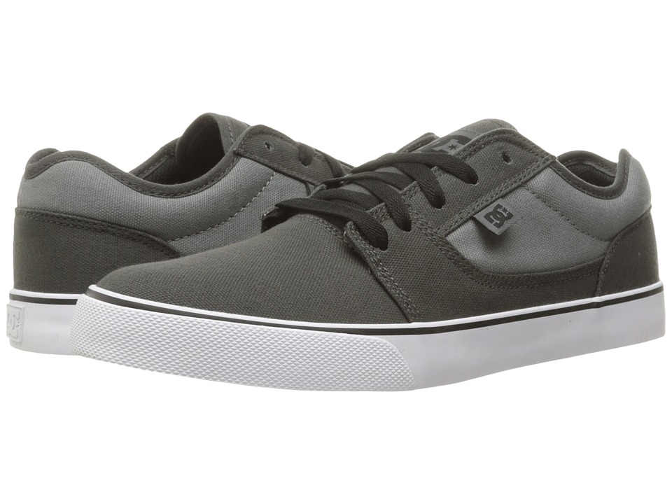 DC - Tonik TX (Charcoal/Cool Grey) Men's Skate Shoes