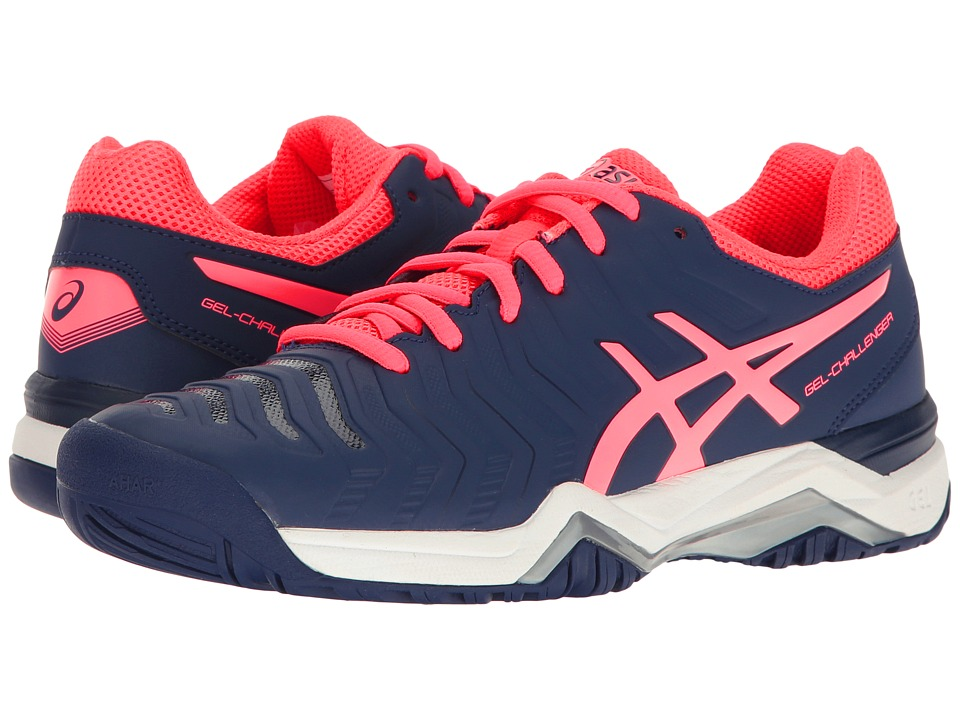 ASICS - Gel-Challenger 11 (Indigo Blue/Diva Pink/Silver) Women's Tennis Shoes