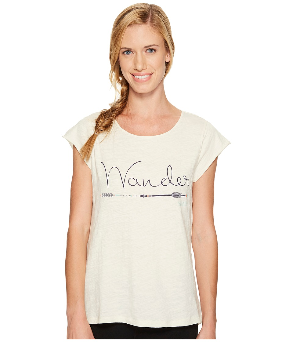 Carve Designs Anderson Tee (Ivory) Women