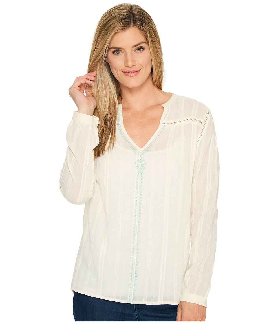 Carve Designs Dunmore Top (Ivory) Women
