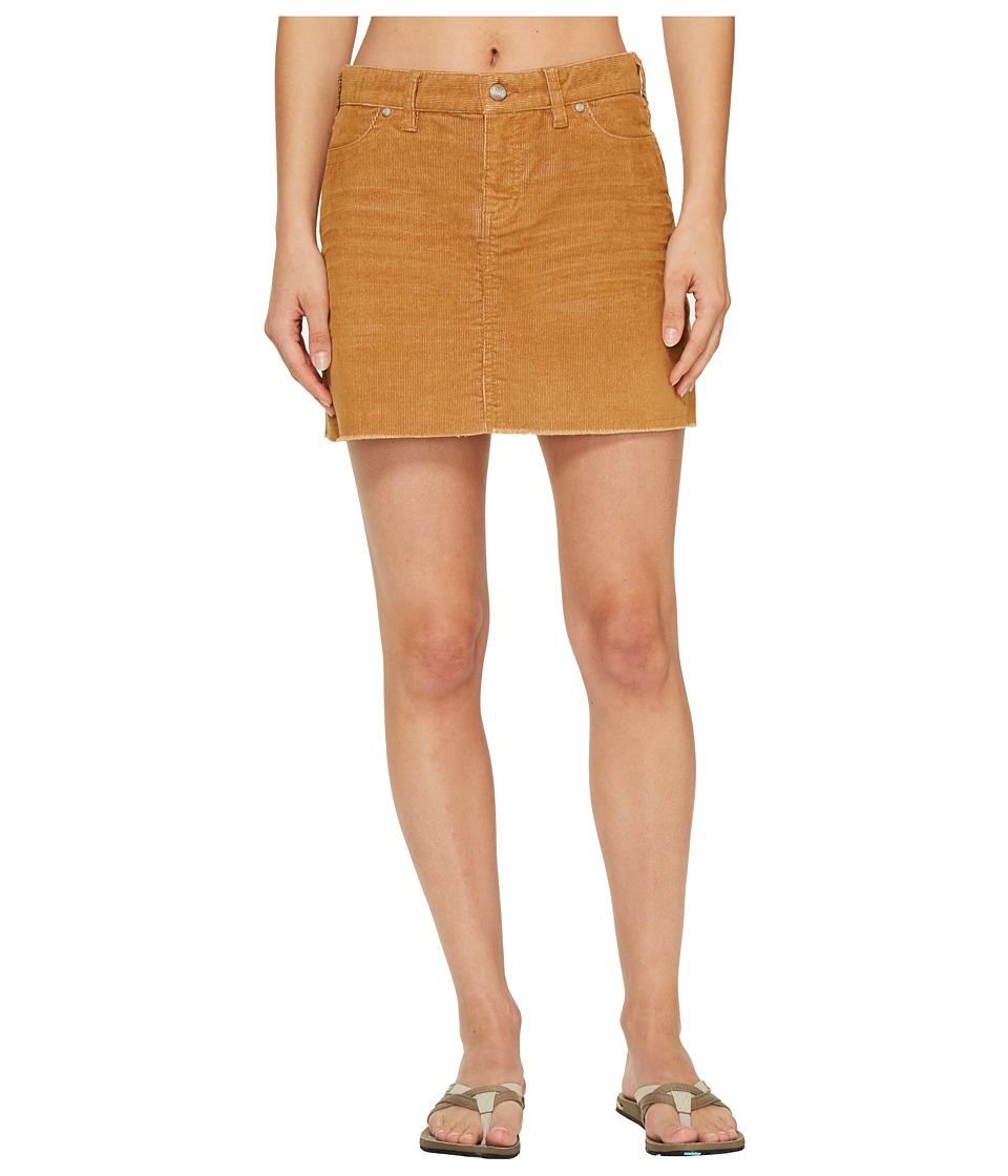 Carve Designs Oahu Skirt (Goldenrod) Women
