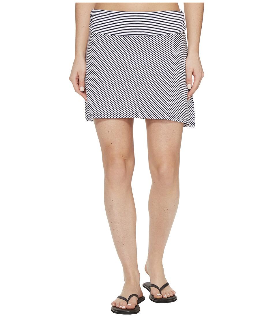 Carve Designs Bennett Flirt Skirt (Anchor Caribbean Stripe) Women