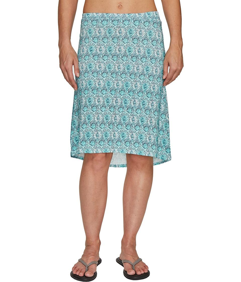 Carve Designs Miramar Skirt (Blue Lagoon) Women