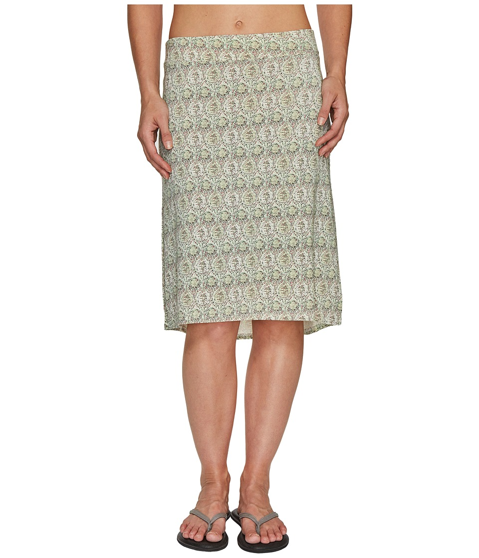 Carve Designs Miramar Skirt (Butter Lagoon) Women