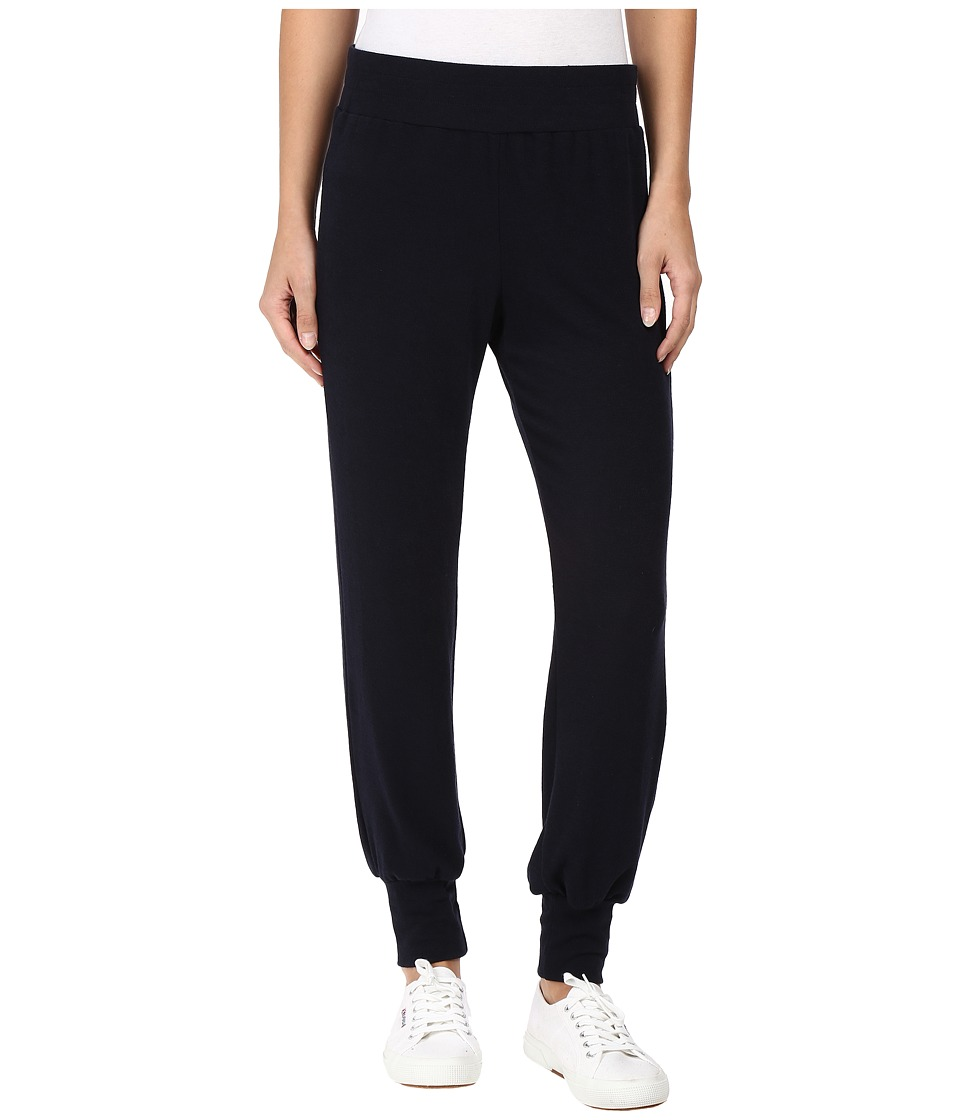 Nally & Millie - Pull-On Track Pants (Navy) Women's Casual Pants