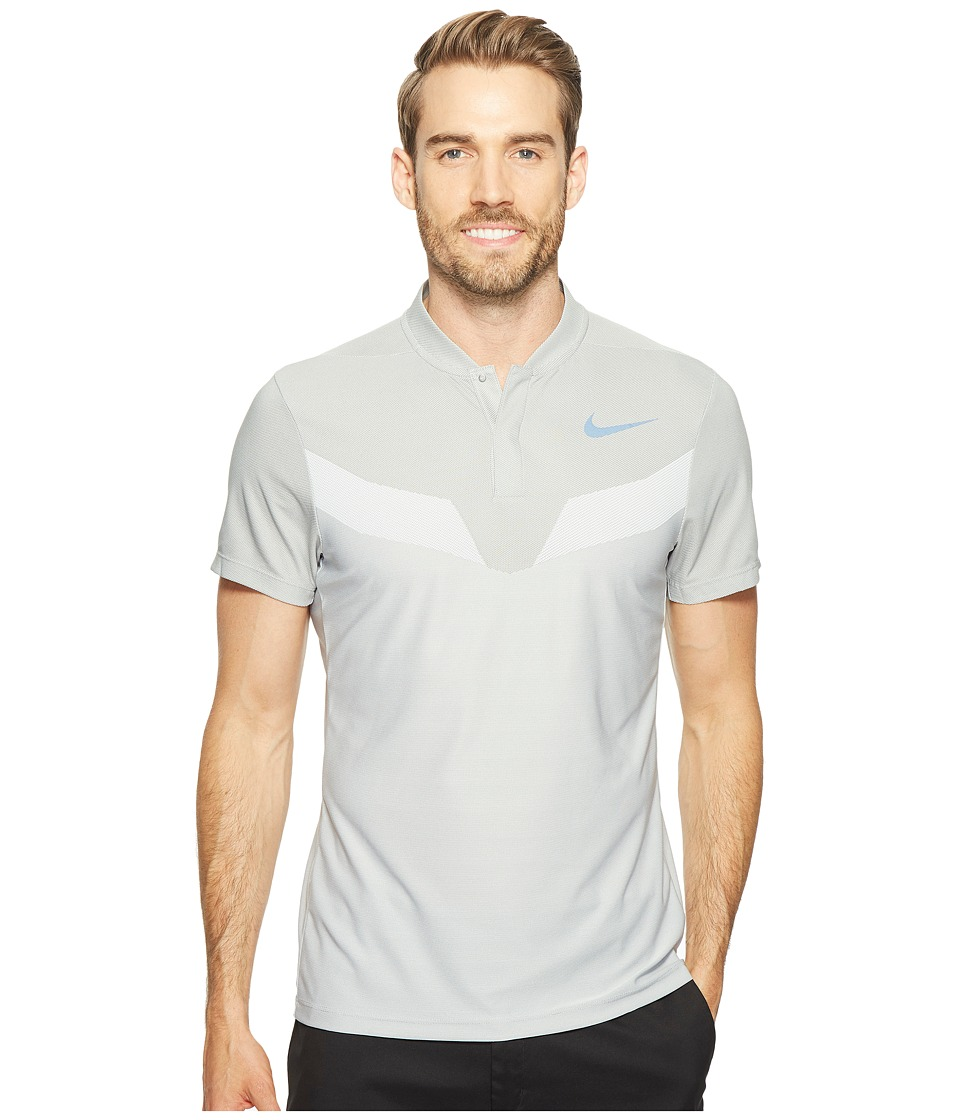 Nike Golf - Zonal Cooling MM Fly Blade (Wolf Grey/Reflective Black) Men's Short Sleeve Pullover