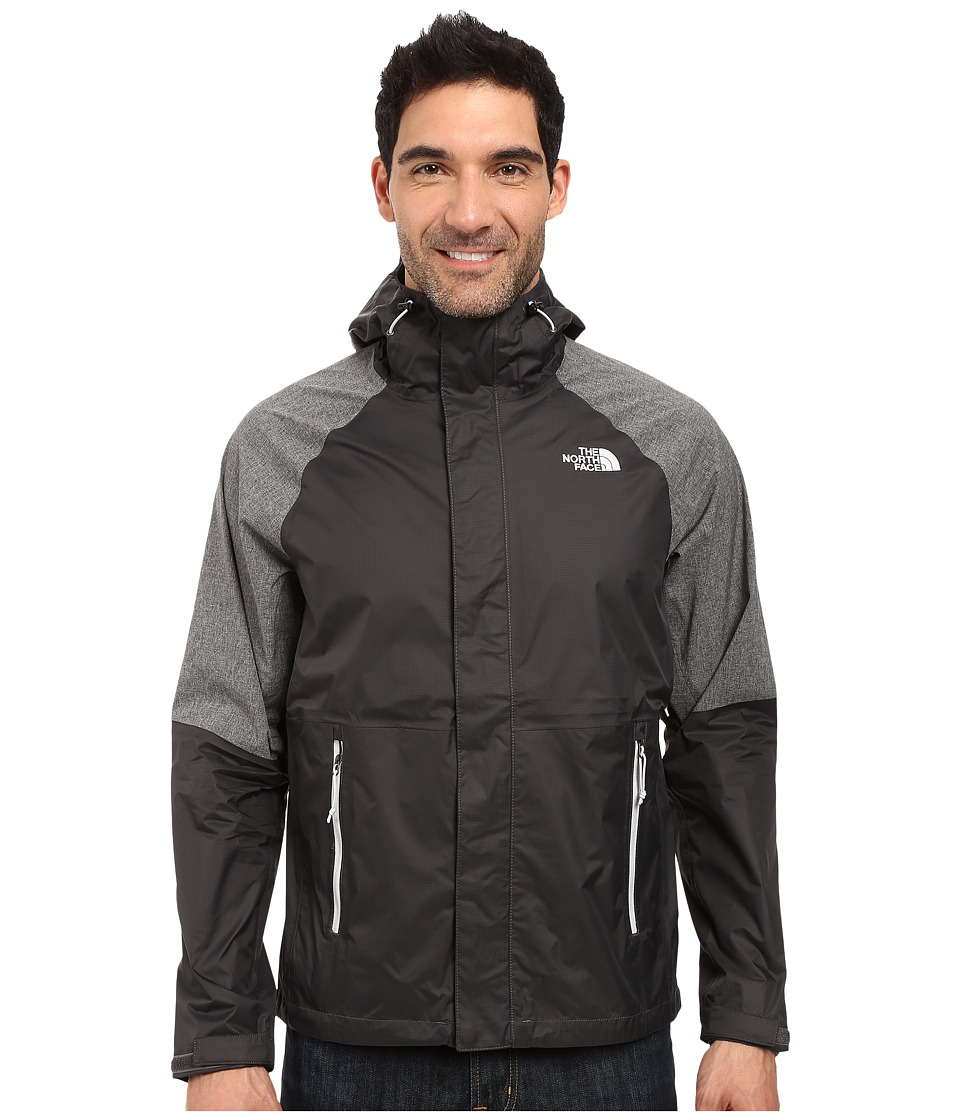 The North Face - Venture Hybrid Jacket (Asphalt Grey/Asphalt Grey Heather) Men's Coat