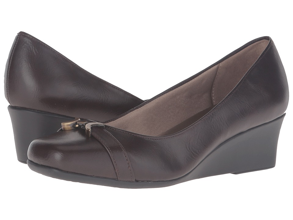 LifeStride Getup (Dark Brown) Women